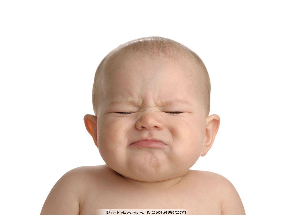 委屈哭泣的可爱宝贝图片素材 婴幼儿 外国婴幼儿 男宝宝 健康 可爱
