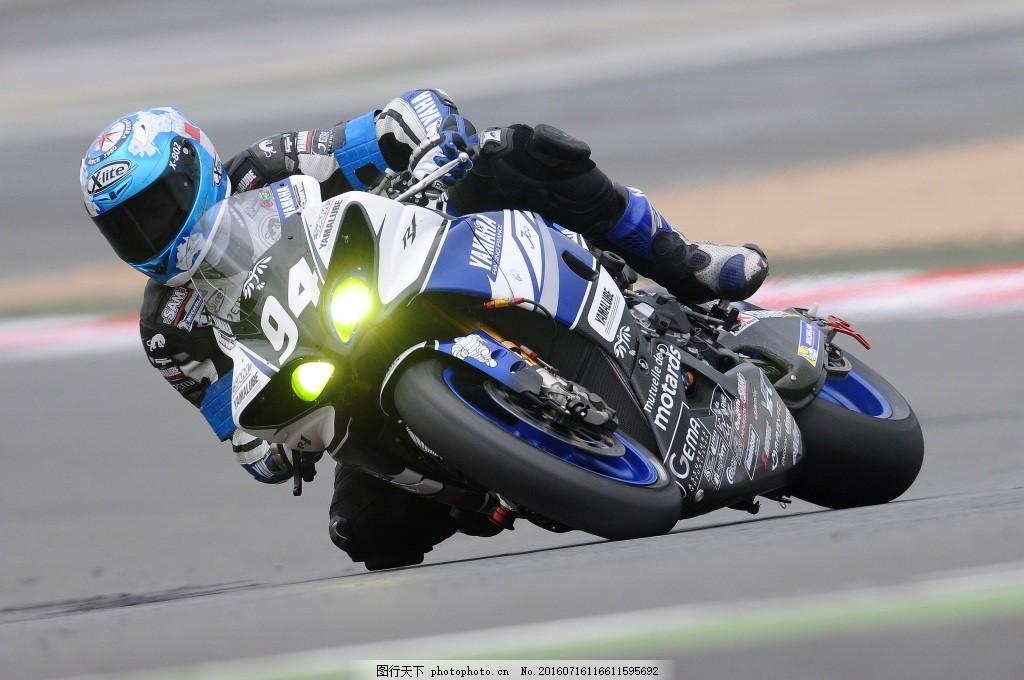 摩托车骑手 摩托车赛车手 比赛 速度 运动