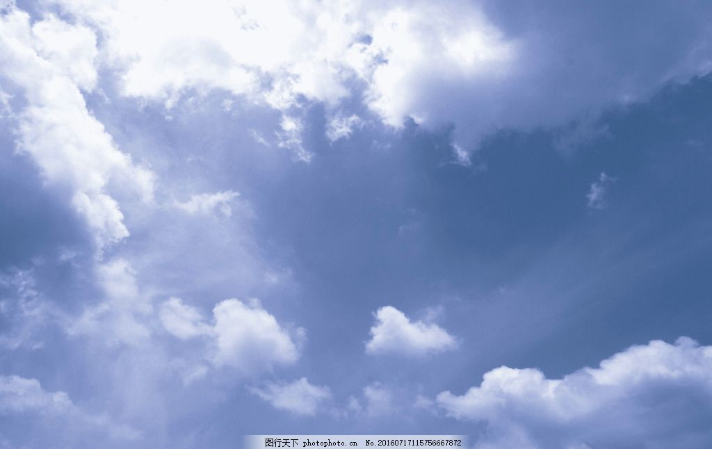 白云 云朵 云彩 蓝天 蓝灰调 光线 天空白云 摄影 自然景观 自然风景