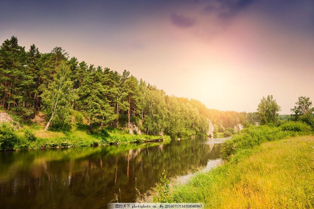 夏天风景图片,美丽的夏天风景高清图片下载 山水 溪水