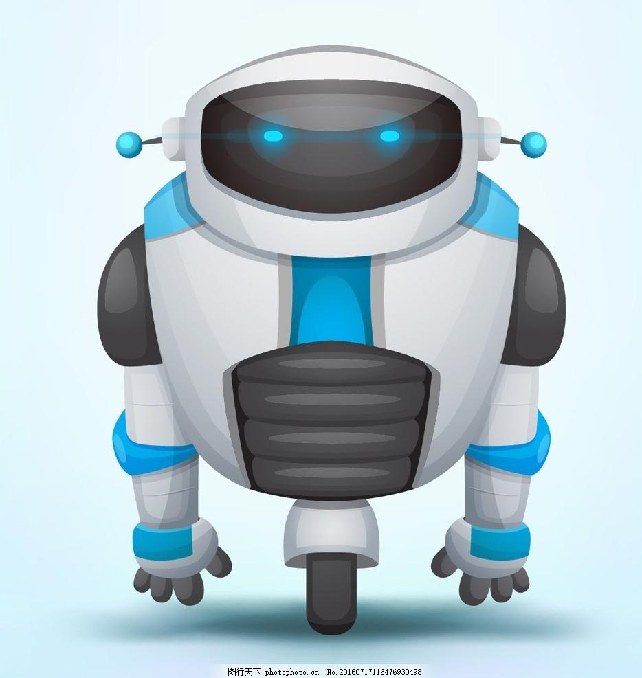 卡通机器人 智能机器人 卡通怪兽 卡通动物 卡通形象 可爱动物 拟人化