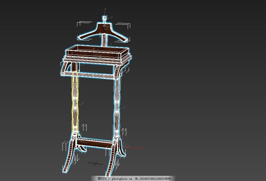 家具 缝纫机模型 欧式缝纫机 家具模型