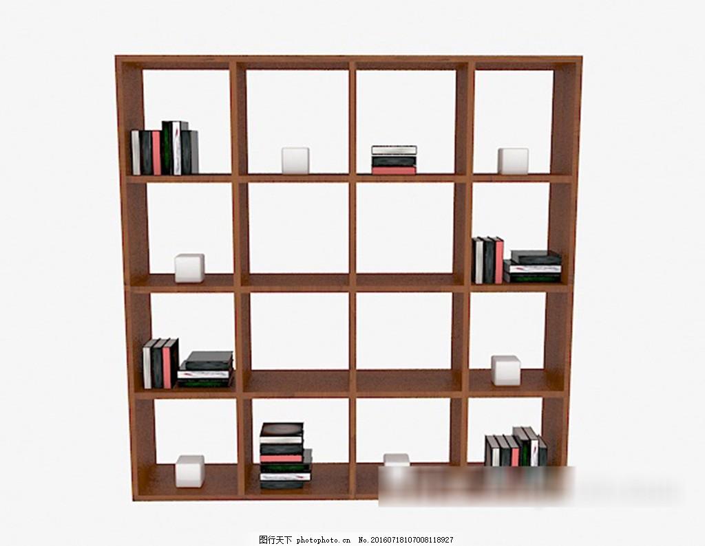 简约镂空书柜3d模型下载 3d模型 3d模型下载 模型 欧式风格 室内设计