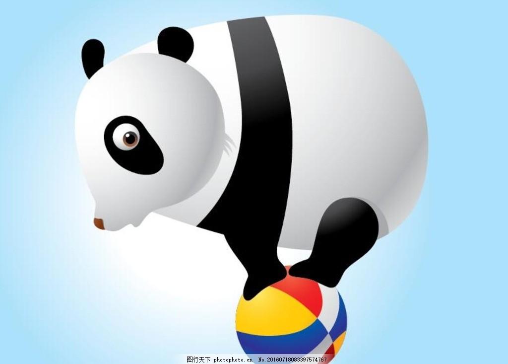 卡通熊猫 卡通苹果 表情卡通 底纹 背景 本本      设计 动物矢量