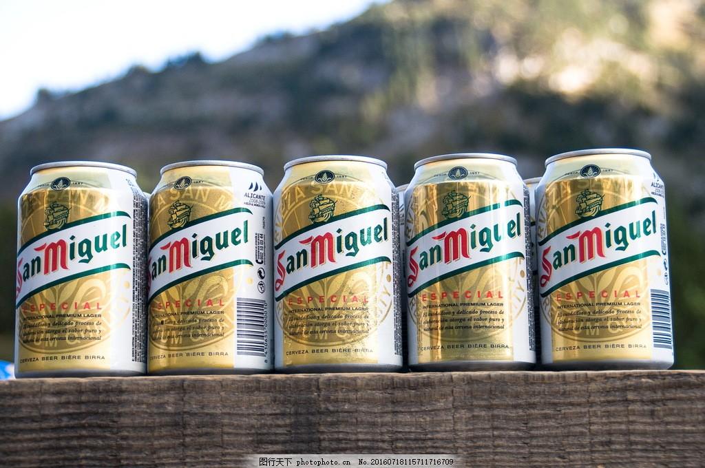 易拉罐装啤酒图片