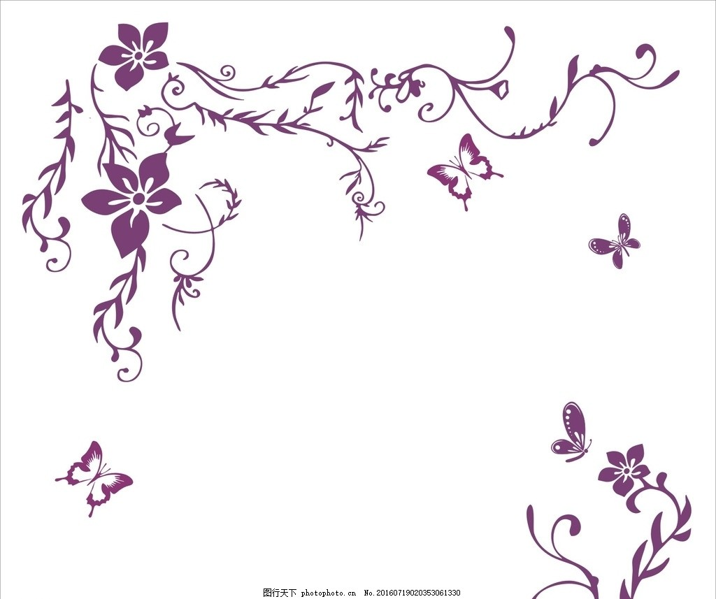 长藤花 背景图