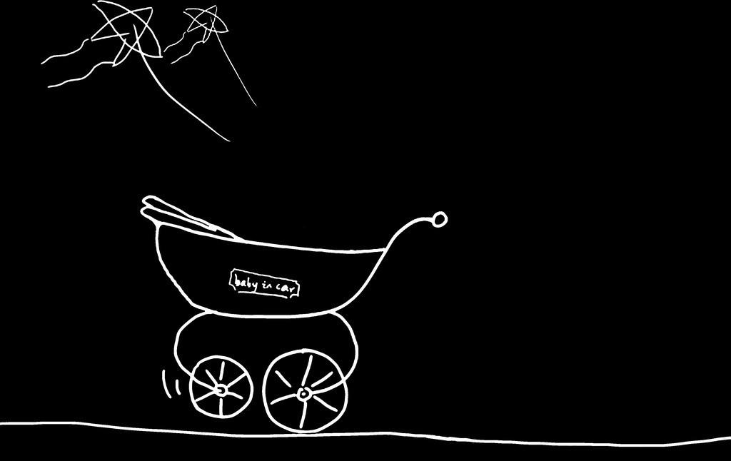 手绘简笔画 手推车 儿童 卡通 幼儿园 影楼 梦想 教学 课件