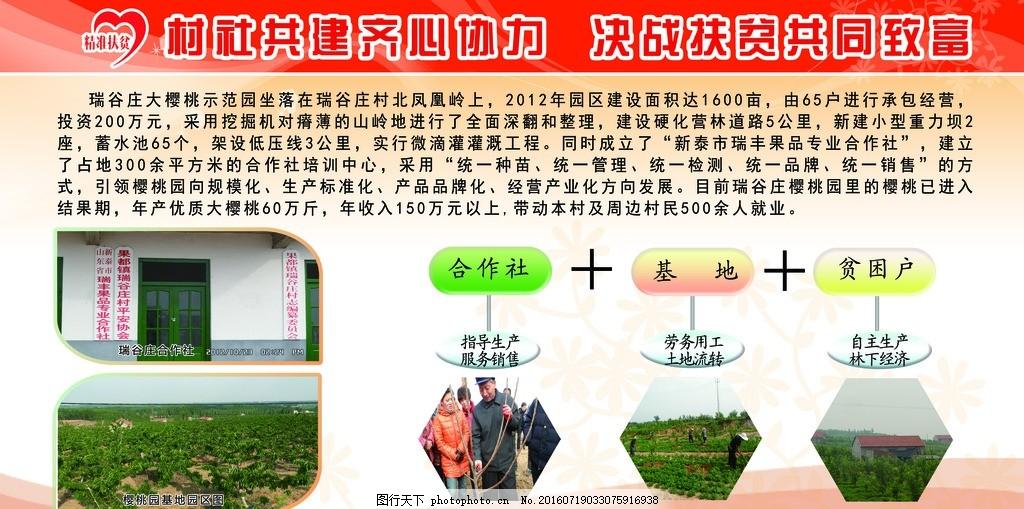 扶贫开发 精准扶贫 产业扶贫 亮点项目 展板 版面 农业 项目 帮扶