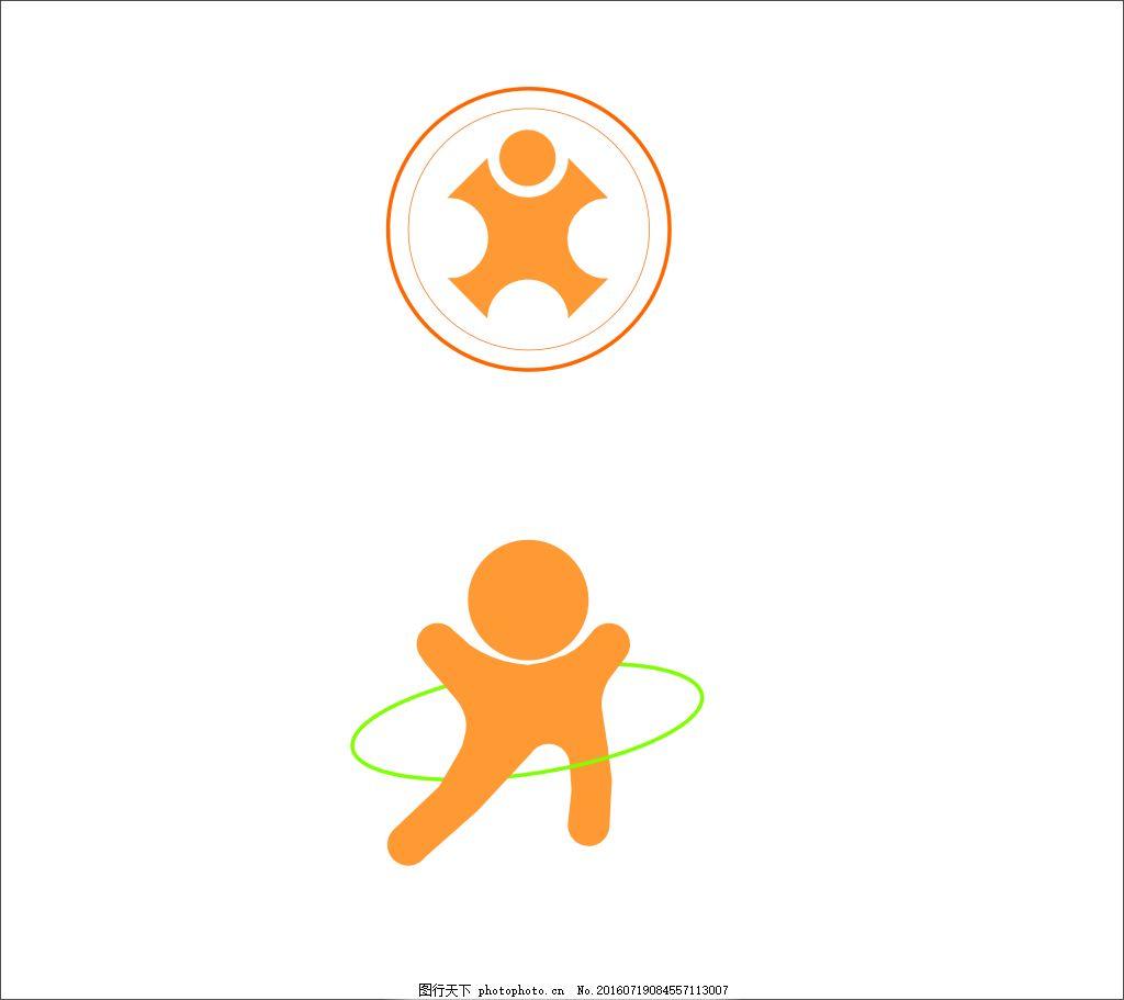 幼儿园logo logo图形 标志设计 商标设计 圆形标志 logo设计创意 企业