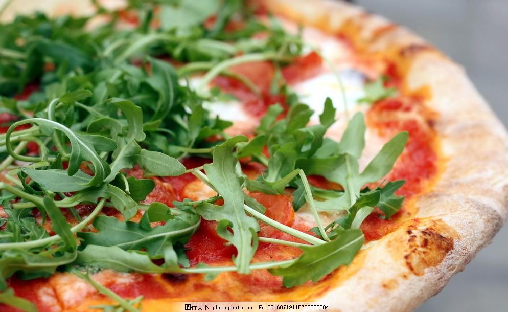 美食 食品 点心 披萨 菜叶 饮食类 摄影 餐饮美食 西餐美食 72dpi jpg