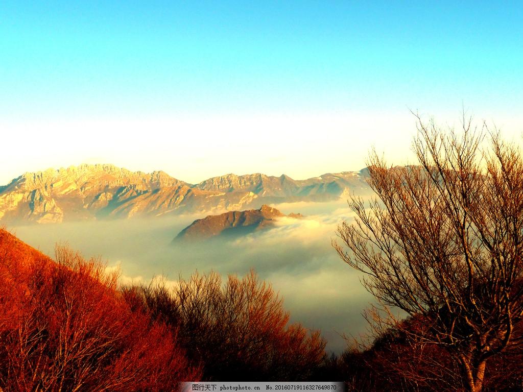 云海自然风景唯美图片