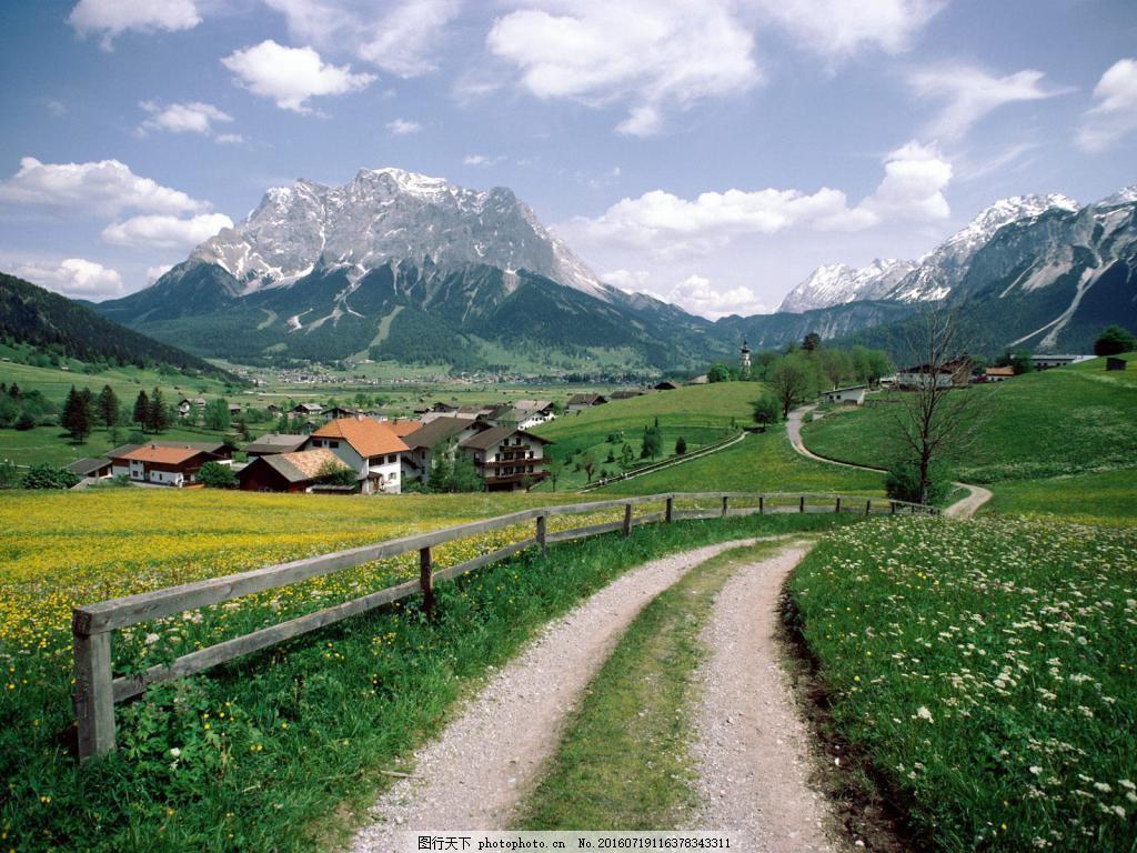 美丽的乡间风景图片