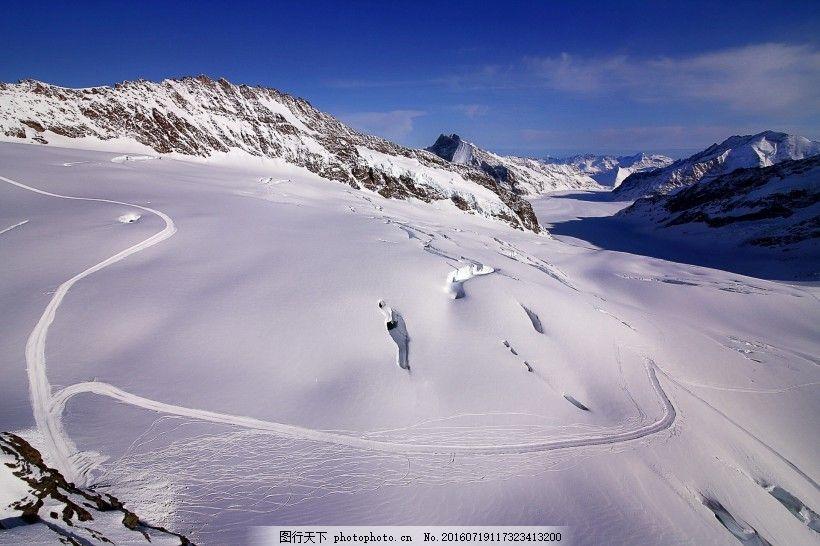 瑞士阿尔卑斯山风景