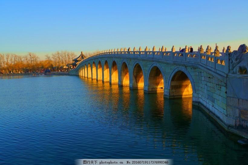 桥速写风景