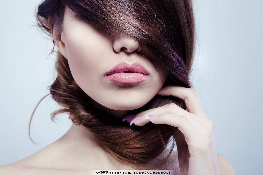 时尚美发模特美女图片