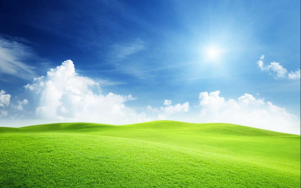 蓝天白云草地风景图 蓝天白云山脉沙漠植物高清大图免费下载 骆驼