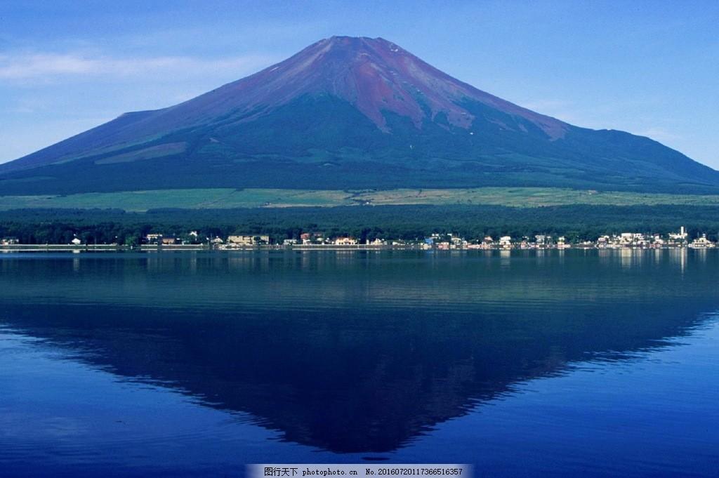 高清日本富士山风景图片