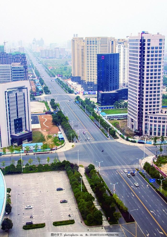 醴陵大道 大道 楼 马路 车子 行人 远方 摄影 旅游摄影 国内旅游 300