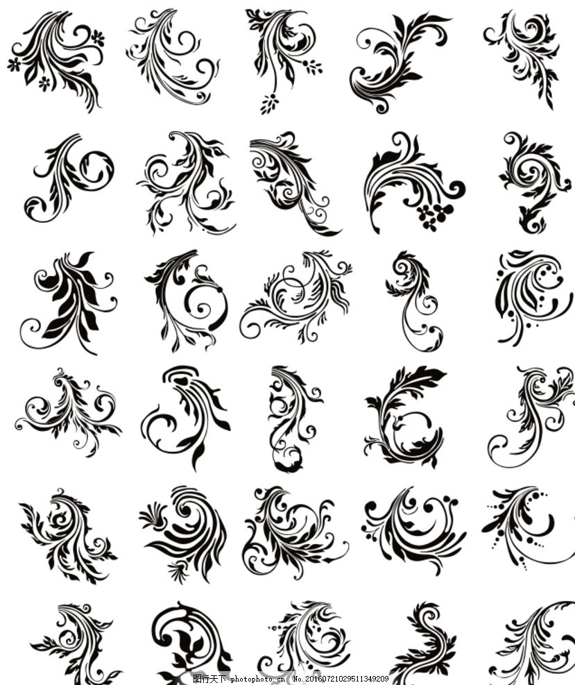 图腾 花纹 欧式 古典 花边 设计 广告设计 广告设计 cdr