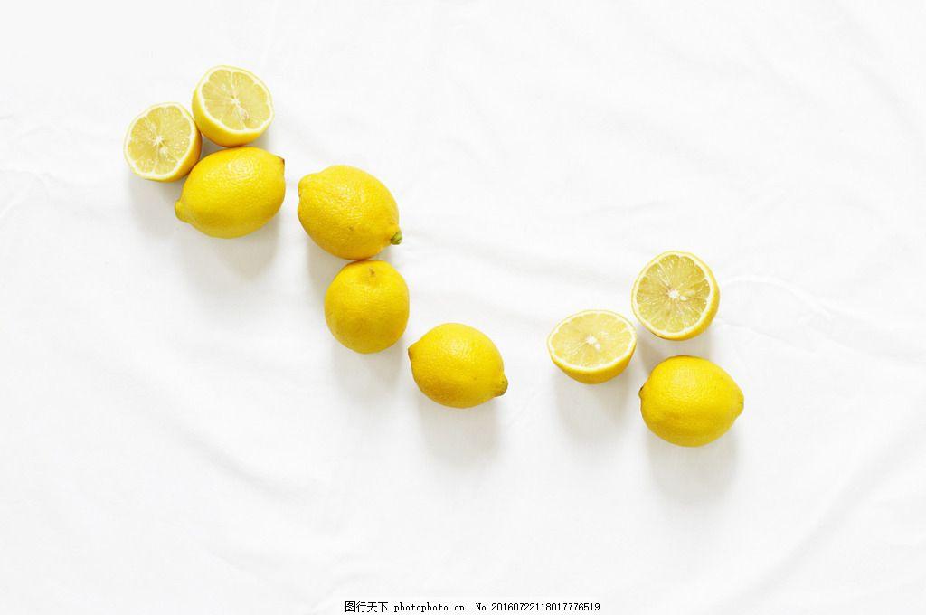 静物小清新柠檬图片
