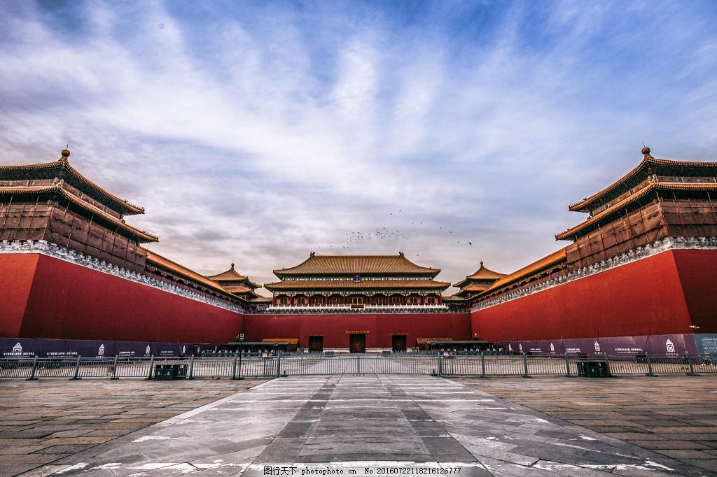 古风 中国风 故宫大图 建筑物背景