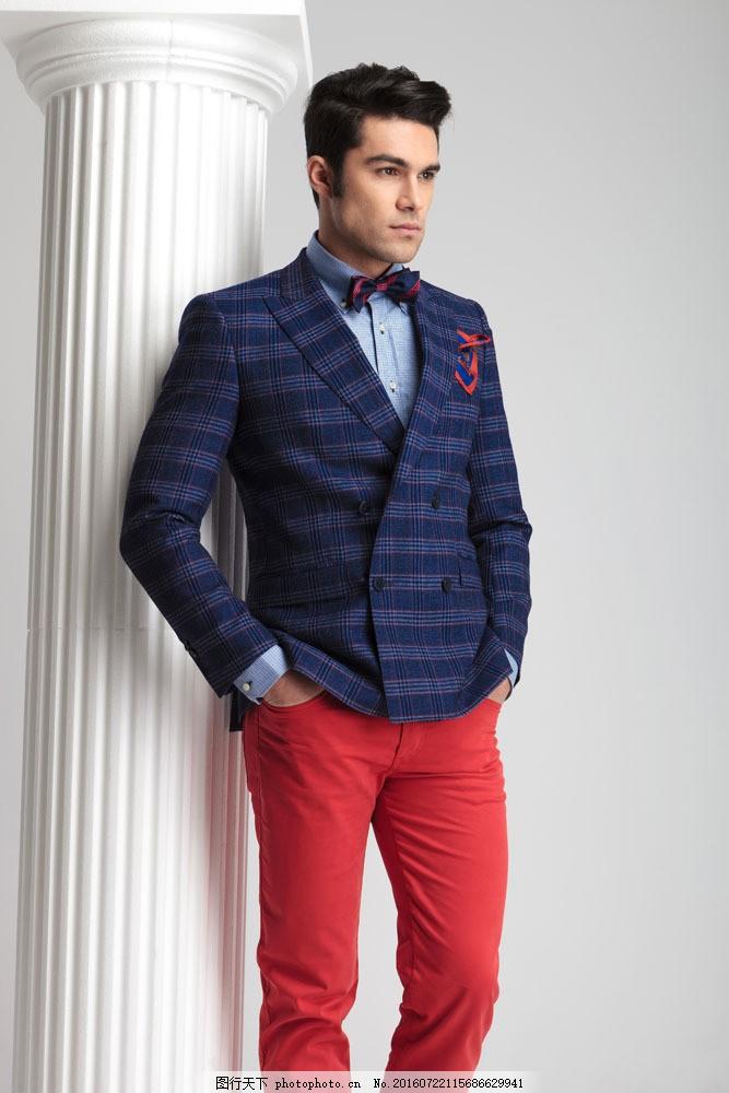 时尚西装模特男人图片