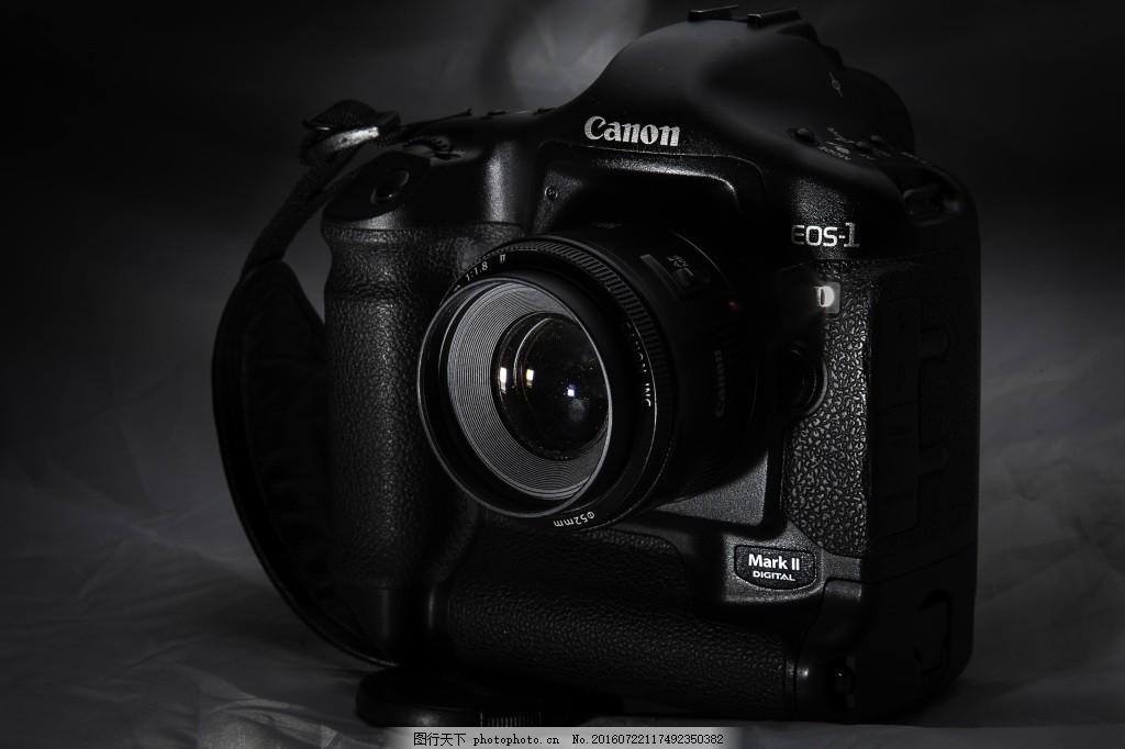 专业的相机 佳能 设备 照片 黑色图片