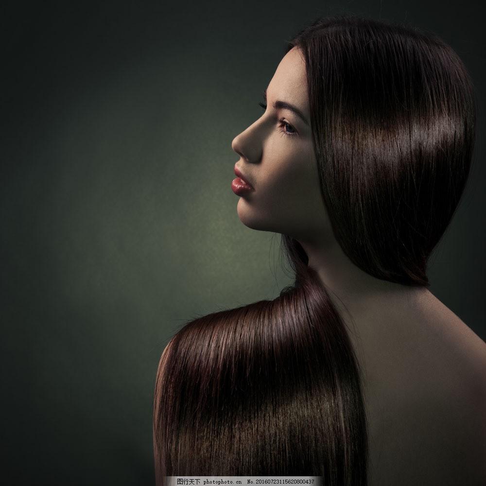 美发模特美女图片素材 美发模特 性感美女 时尚美女 美女模特 美女