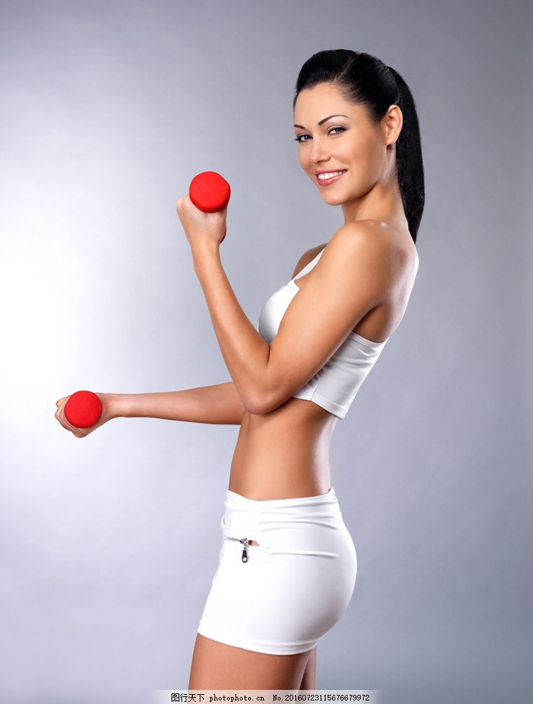 时尚性感健身美女图片