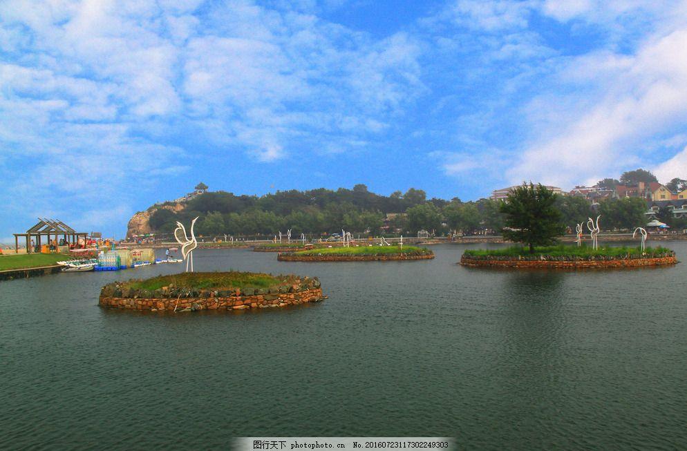 北戴河鸽子窝风景图片