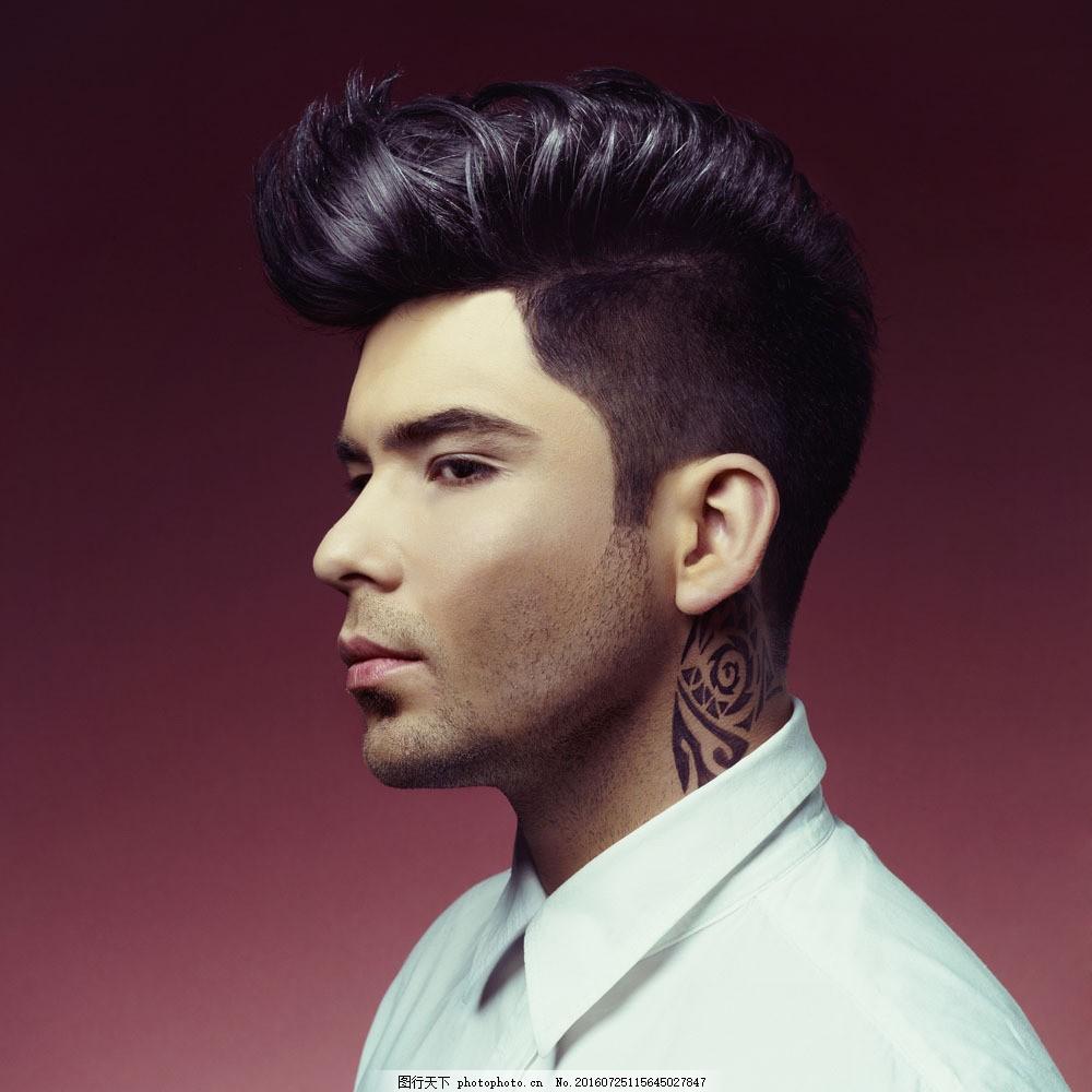时尚发型模特图片素材 发型 型男 男模特 发型模特 男模 时尚元素