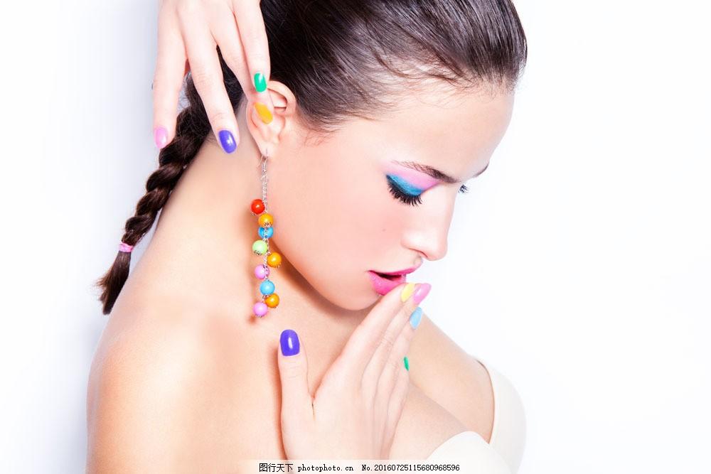 时尚性感的外国女人图片