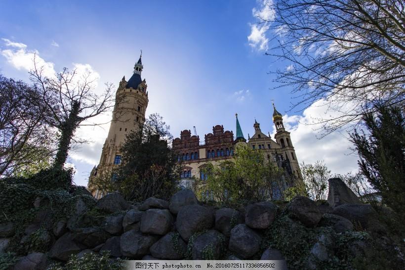 德国古老城市什未林风景