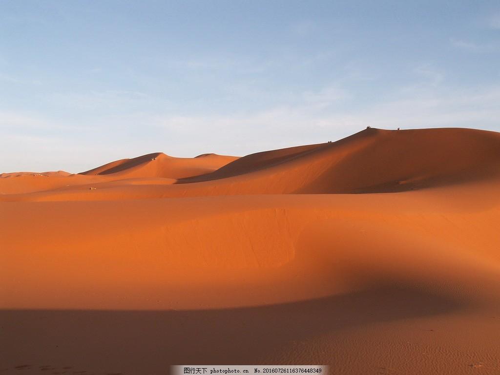 高清荒凉沙漠风景图片下载 沙漠 沙丘 沙堆 沙子 砂砾