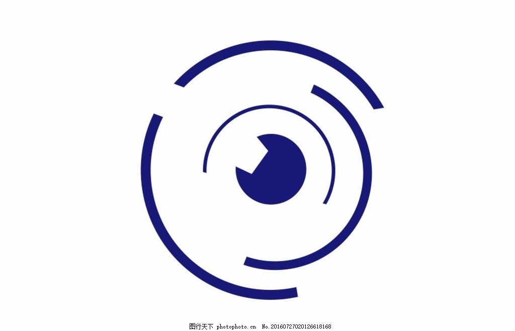 眼睛风景logo