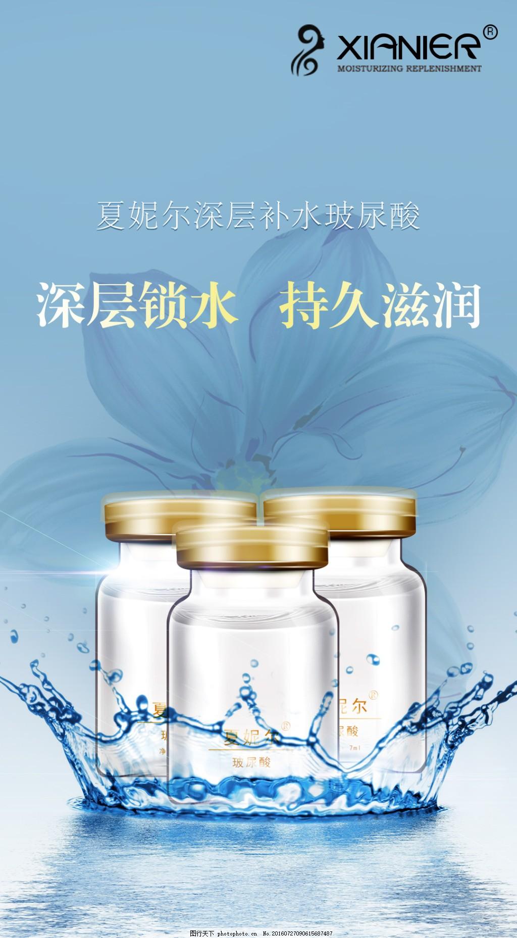玻尿酸海报