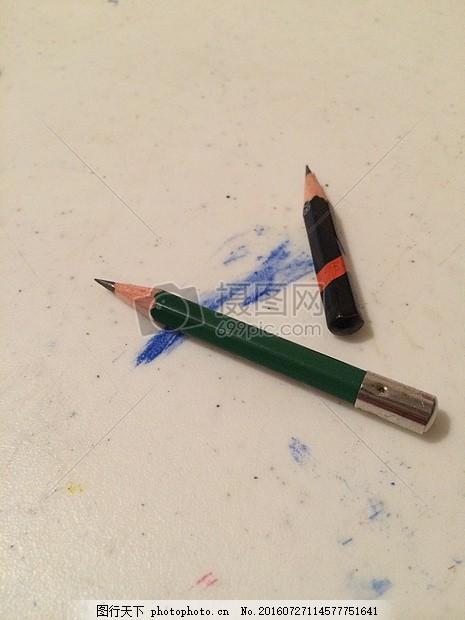 铅笔屑粘贴画图片动物