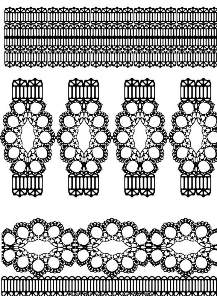古代边框 古代素材 古典圆形花纹 古典花边 圆形 花纹古代图腾 黑白