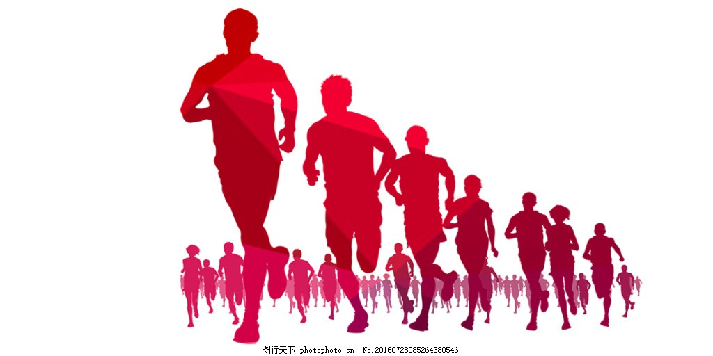 奔跑的人 奔跑 人 剪纸 a3 热气球 彩色 奥迪 五彩 青春 热血 跑步
