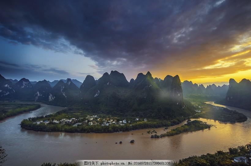 广西桂林阳朔风景