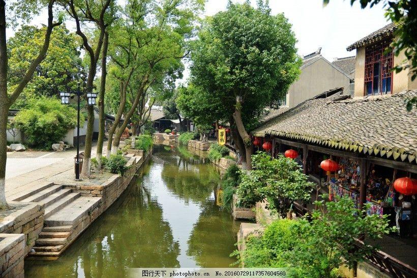 江苏苏州甪直古镇风景