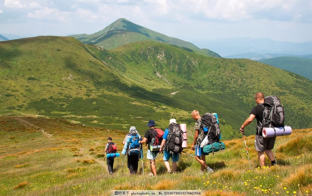 户外徒步旅行 背包客 长途自助旅行 驴友 驴行 户外背包 旅行包 登山