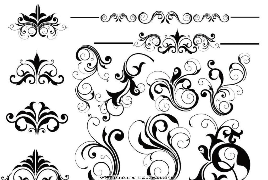 橱窗 铁艺 欧式花纹 简约 欧式花纹标签 欧式 花卉 植物 古典 彩色 时