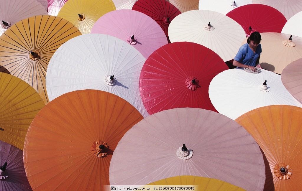 伞 油伞 雨伞 花伞 纸伞 古典 传统 彩色 油纸伞 花雨伞 民间艺术