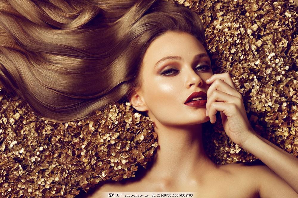 长发美女 美发模特 性感女人 美女模特 美女写真 时尚美女 欧美女性图片
