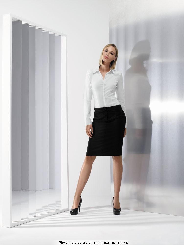 正装服装模特图片素材 外国女性 女人 时尚美女 性感美女 时装模特