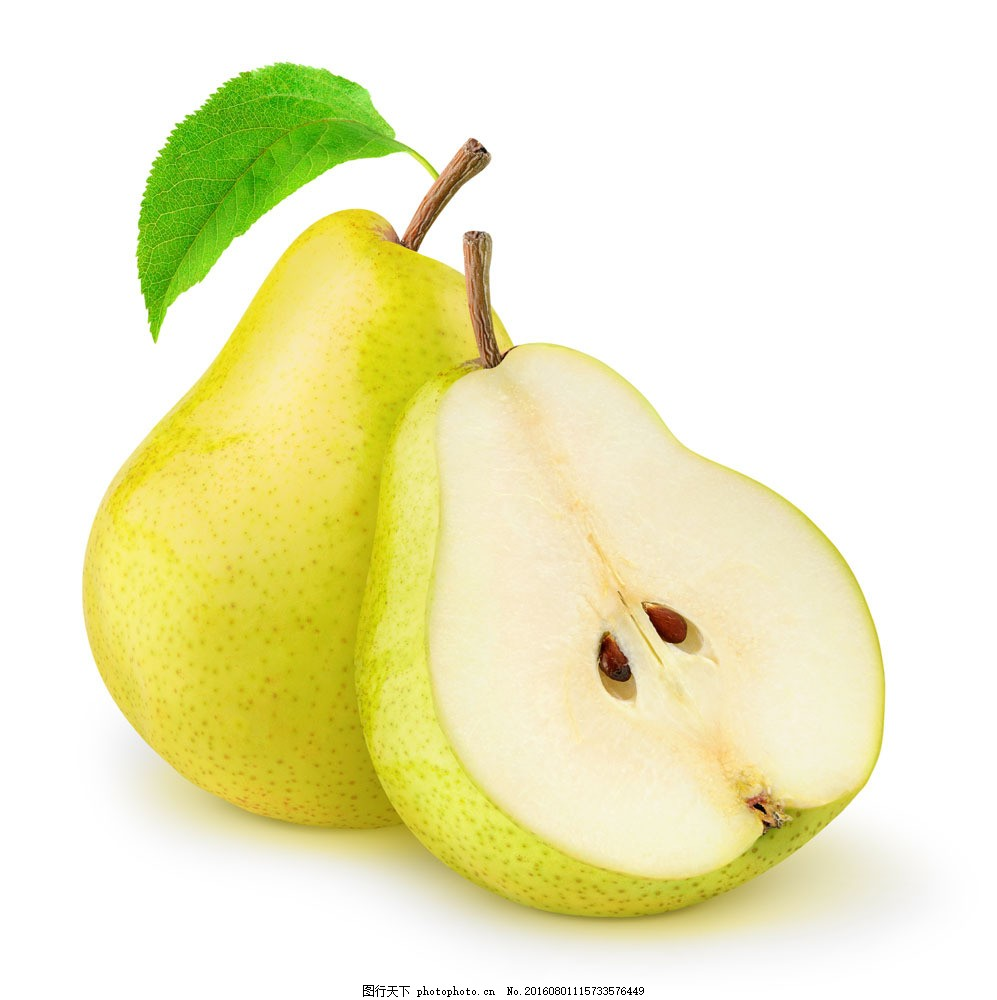 切开的梨 切开的梨图片素材 水果 食物 美食 蔬菜图片 餐饮美食