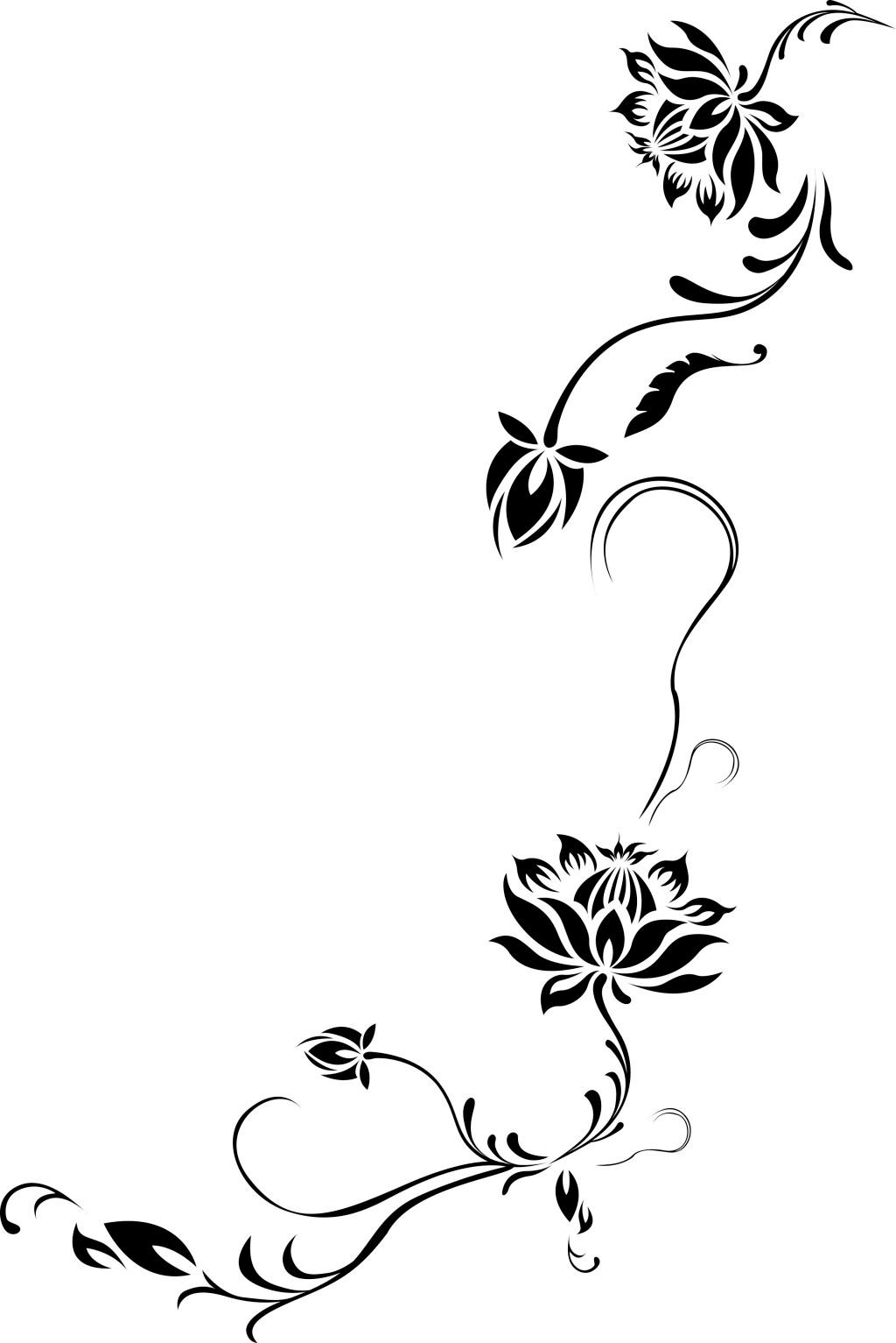 花边 矢量图 边框 边纹 底纹 线条