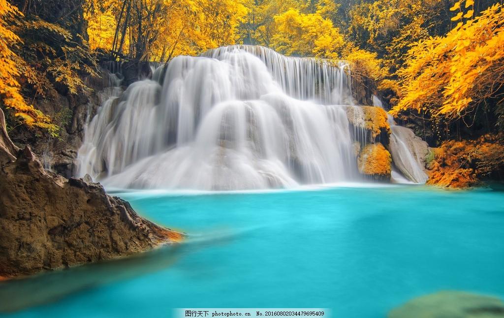 瀑布 山水 风景 山水画 高山流水 流水生财 瀑布风景 山水风景 自然