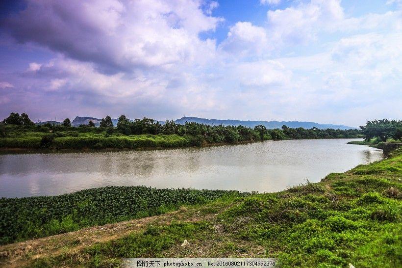 廣東惠州潼湖濕地風景